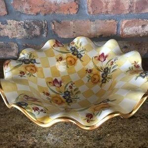 Gorgeous Mackenzie-Child's serving bowl